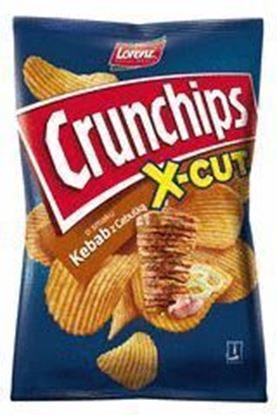Picture of CHIPSY 140G X-CUT KEBAB Z CEBULKA CRUNCHIPS