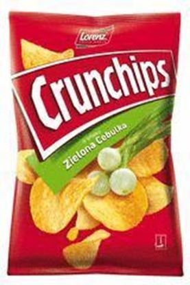 Picture of CHIPSY 140G ZIELONA CEBULKA CRUNCHIPS