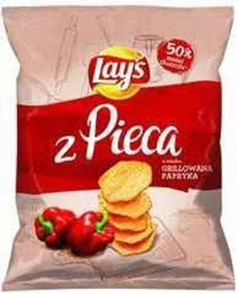 Picture of CHIPSY LAYS PROSTO Z PIECA 125G PAPRYKA