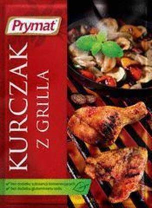 Picture of PRZYPRAWA DO KURCZAKA Z GRILLA 25G PRYMAT