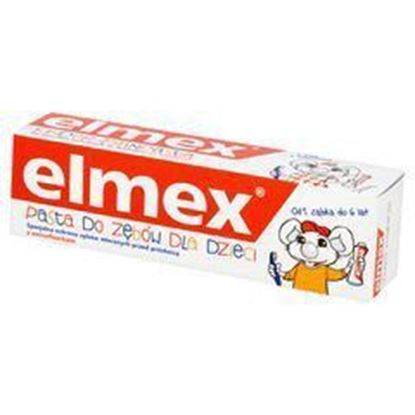 Picture of PASTA DO ZEBOW DLA DZIECI 0-6 50 ML ELMEX