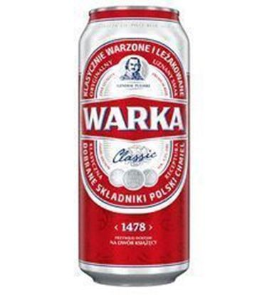 Picture of Warka JASNE PELNE PUSZKA 500ml
