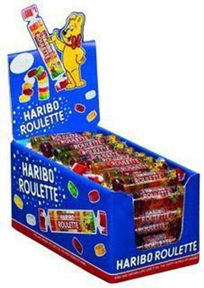 Picture of ZELKI ROULETTE OWOCOWE 25G HARIBO