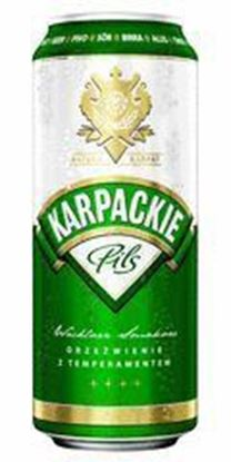 Picture of KARPACKIE PILS PUSZKA 500 ML