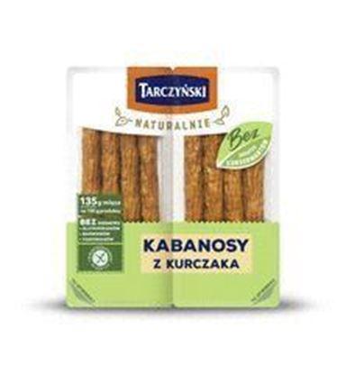 Picture of KABANOSY NATURALNE BEZ KONS KURCZAK 180G TARCZYNSKI