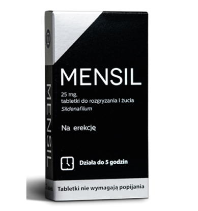 Picture of MENSIL 25 MG - 2 TABLETKI DO ŻUCIA