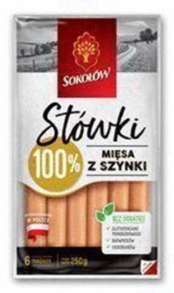 Picture of data 28.02 / PAROWKI STOWKI Z SZYNKI 250G SOKOLOW