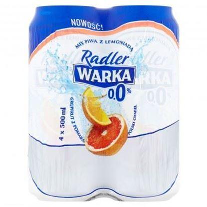 Picture of WARKA RADLER 0% GREJPFRUT POMARANCZ PUSZKA 500ml