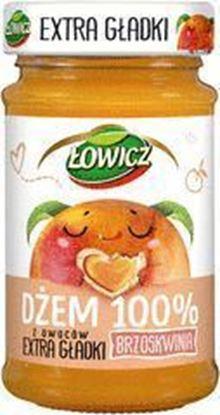 Picture of DZEM EXTRA GLADKI BRZOSKWINIOWY LOWICZ 235G MASPEX