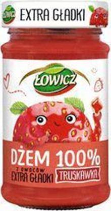 Picture of DZEM EXTRA GLADKI TRUSKAWKOWY LOWICZ 235G MASPEX