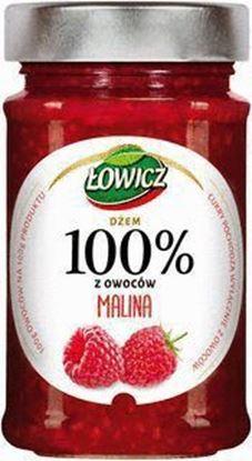 Picture of DZEM 100% OWOCOW MALINOWY LOWICZ 220G MASPEX