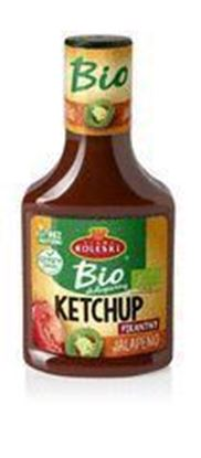 Picture of KETCHUP JALAPENO BIO 340G ROLESKI
