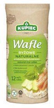 Picture of WAFLE RYZOWE NATURALNE 120G KUPIEC
