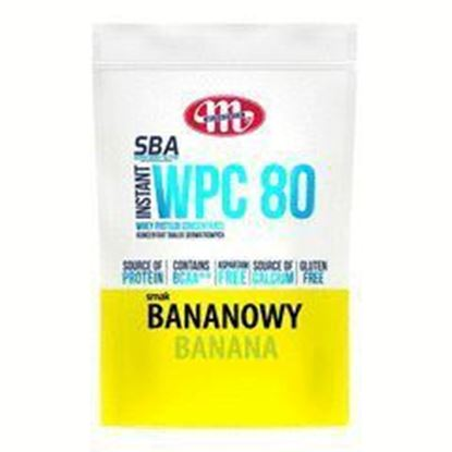 Picture of SBA WPC 80 KONCENTRAT BIALEK SERWATKOWYCH SMAK BANANOWY 700G MLEKOVITA