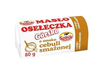 Picture of data 02.10 / MASLO OSELECZKA GORSKA Z CEBULA O SMAKU SMAZONYM 80G SOBIK